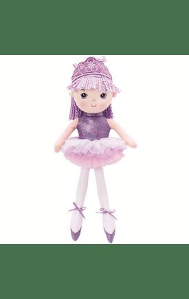 brinquedo boneca lilás infantil da marca buba