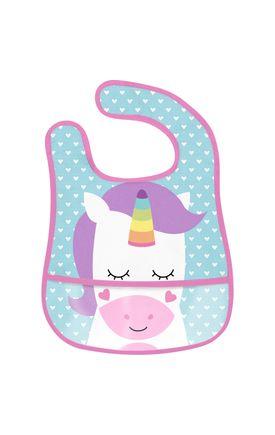 08261 babador com bolso unicornio